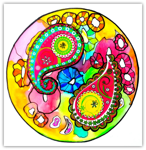 Intuitive Mandala #14 - Shelley Klammer