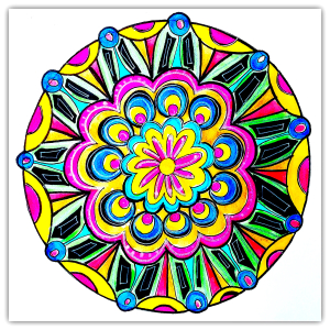Intuitive Mandala #16 - Shelley Klammer