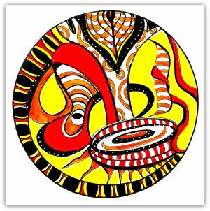 Intuitive Mandala #22 - Shelley Klammer