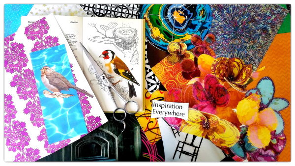 Gathering Your Collage Supplies - Expressive Art Inspirations