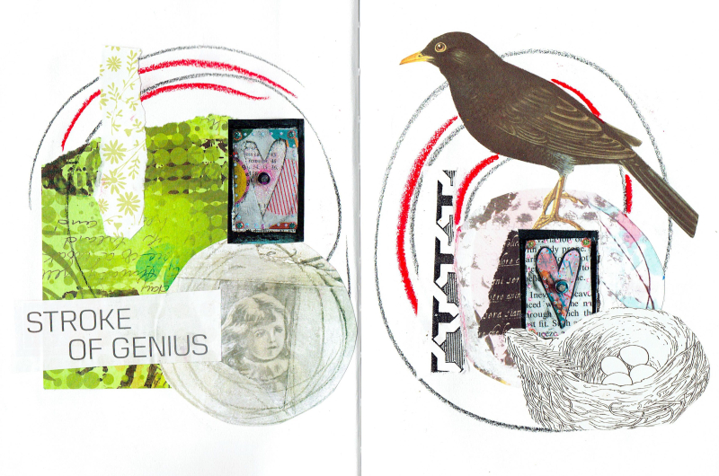Intuitive Collage 57 - Shelley Klammer