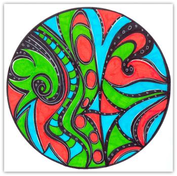 Intuitive Mandala 195 - Shelley Klammer