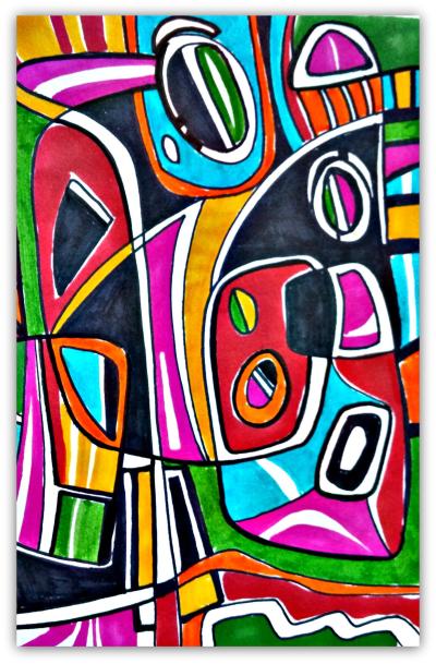 Abstact Expressive Art