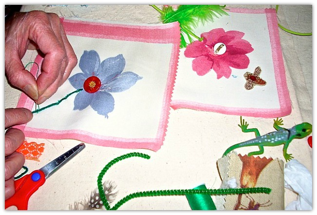Expressive Arts Facilitation - Fabric Assemblage