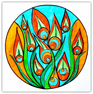 Intuitive Mandala #23 - Shelley Klammer