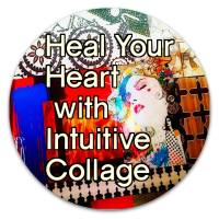 Heal Your Heart with Collage - cream