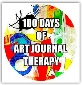 100 Days of Art Journal Therapy