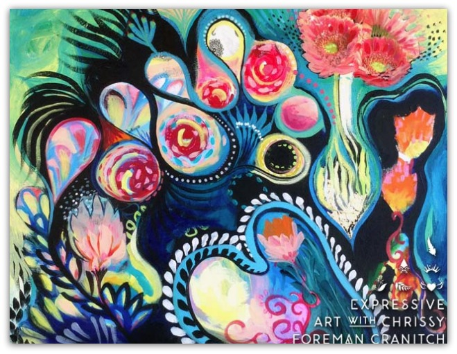 Intuitive Art by Chrissy Foreman Cranitch - 3