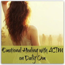 Emotional Healing with ACIM - by Shelley Klammer