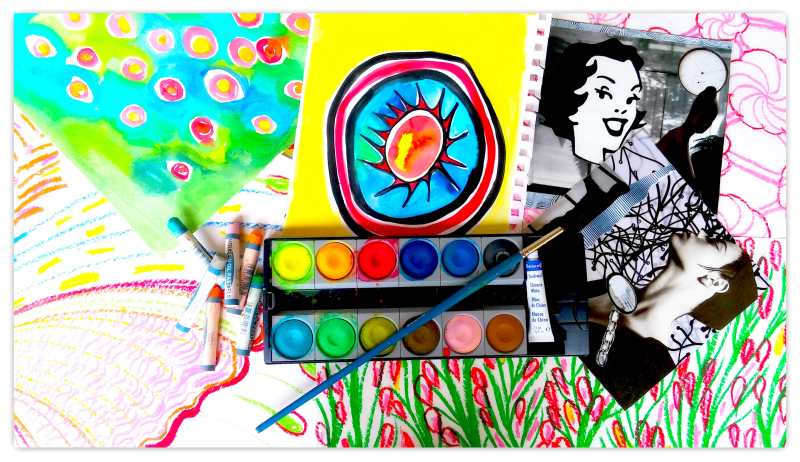 Expressive Art for Self-Care