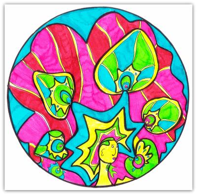 Intuitive Mandala 182 - Shelley Klammer