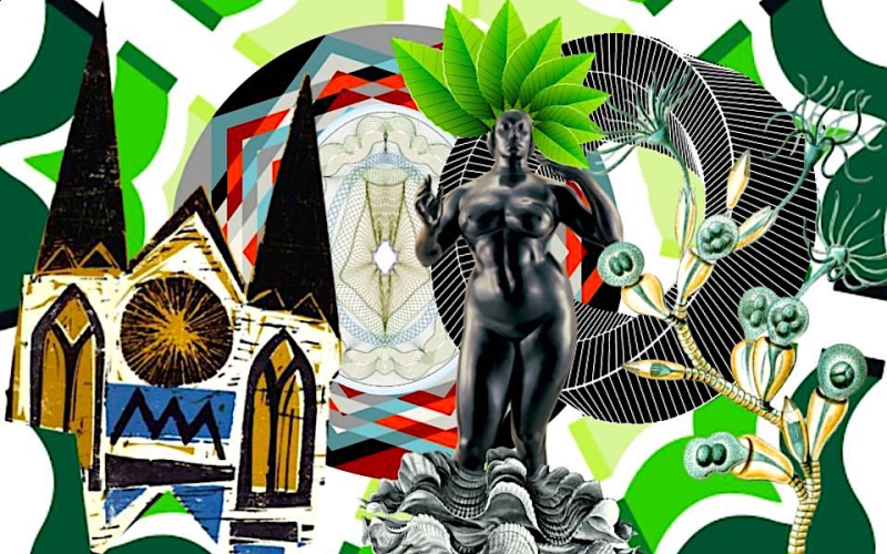Nova Força - Digital Colagem - Shelley Klammer