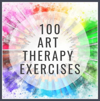 **100 Art Therapy Exercises