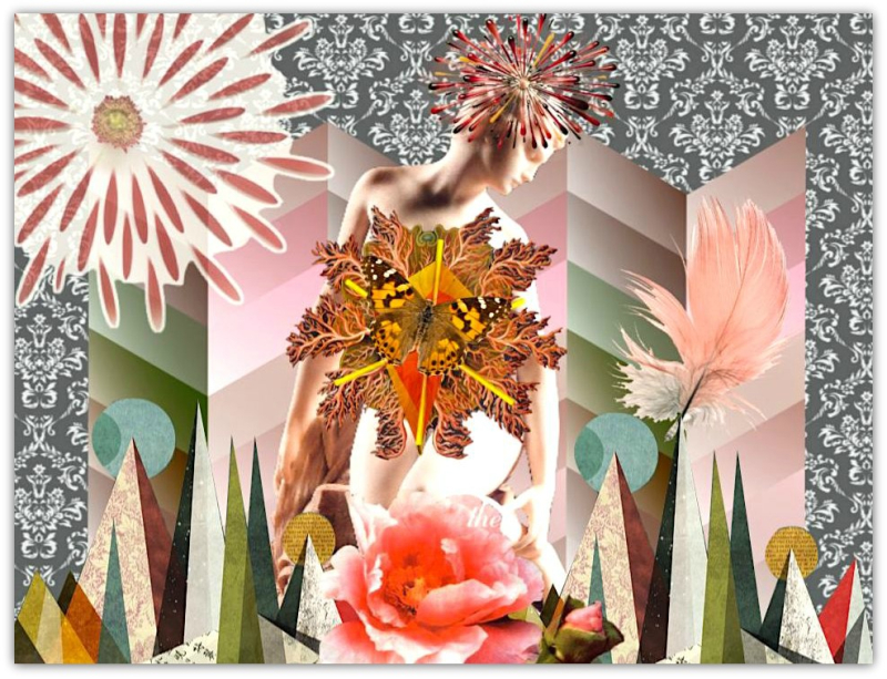 Intuitive Digital Collage - Shelley Klammer