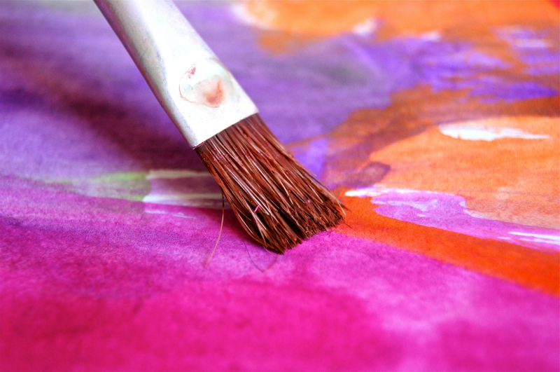 Painting - 100 art therapy exercises
