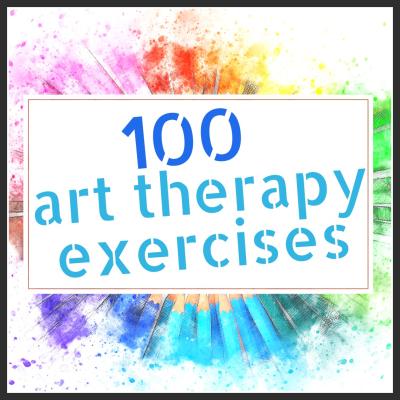 100 Art Therapy Exercises - Shelley Klammer