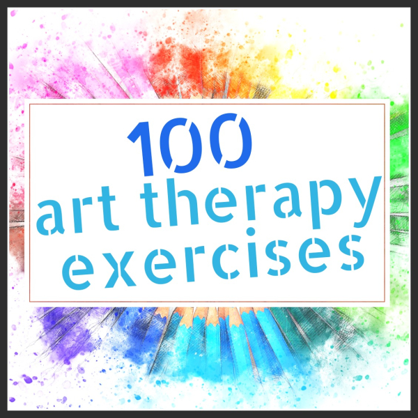 100 Art Therapy Exercises Shelley Klammer