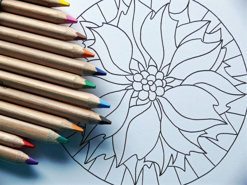 Mandala 100 art therapy exercises