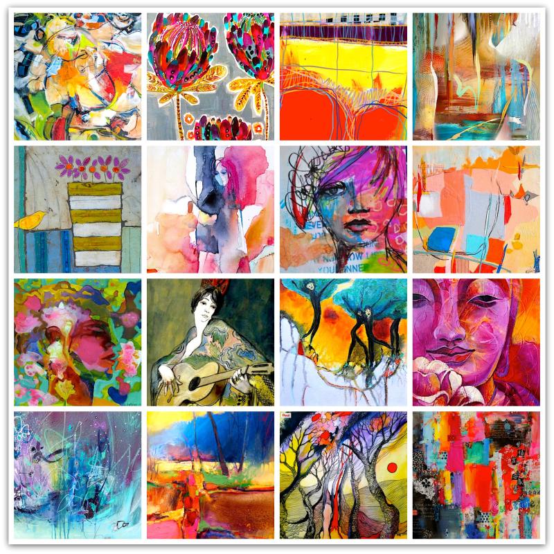 Expressive Art Inspirations  - 1