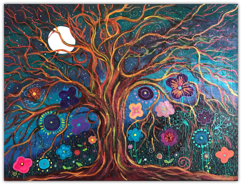 Letting Go Tree by Kassi Martin- Expressive Arts Facilitator