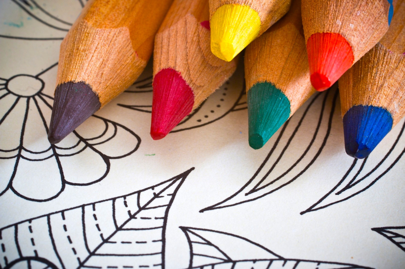 Coloring for calm