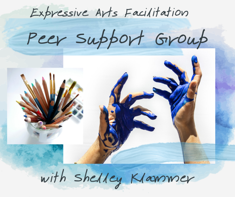 Expressive Arts Facilitation Support Group - Shelley Klammer