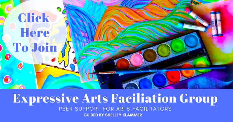 Free Support Group for Expressive Arts Facilitatiors Guided by Shelley Klammer
