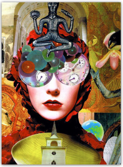 How to Create an Intuitive Collage - Shelley Klammer
