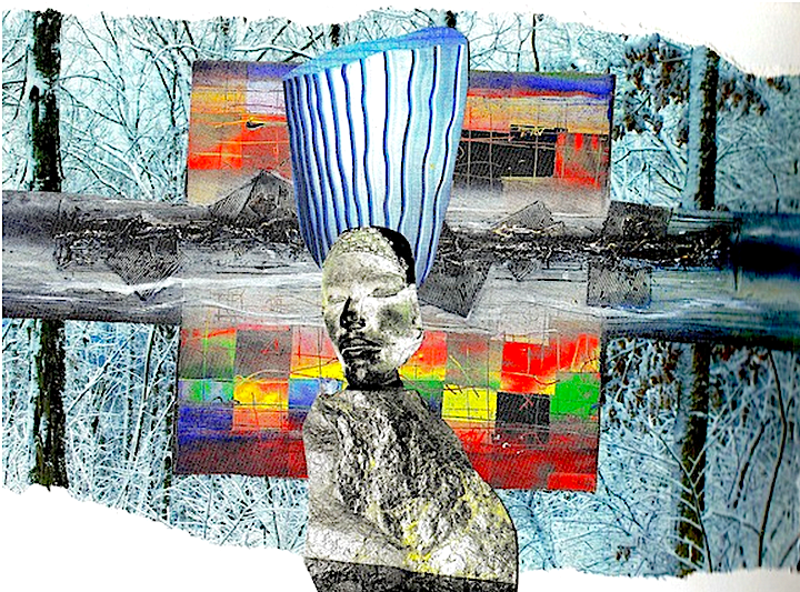 Daily Intuitive Collage