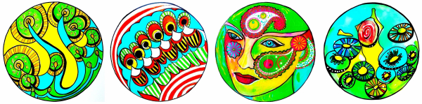 Photo of Four expressive mandala prompts – Shelley Klammer