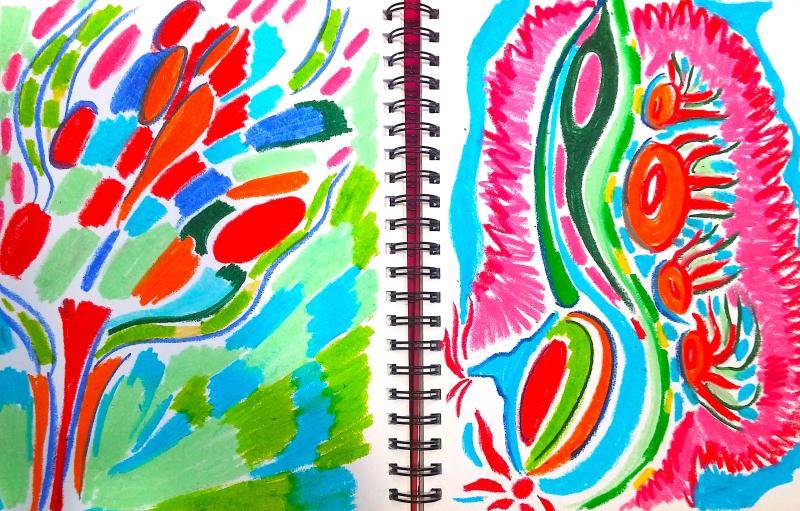 Expressive Pastels - Shelley Klammer